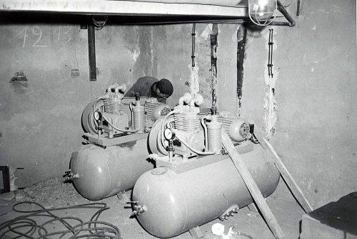 Prace budowlane, Budynek Akwarium lata 1969-71