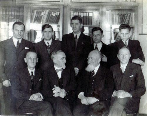 Pracownicy MLR na Helu - 1938 rok