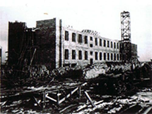 Budowa Stacji Morskiej - 1938