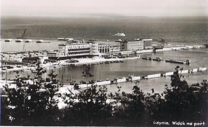 Port Gdynia 1938 - 1958