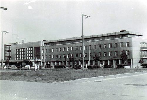 Budynek Akwarium, lata 70-te