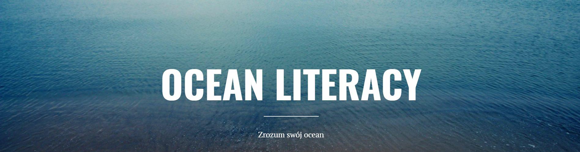 Ocean Literacy – świadomość morska