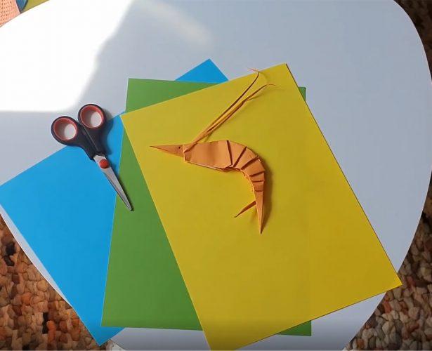 Origami – garnela
