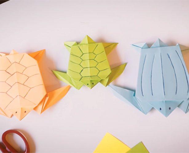 Origami – żółw morski