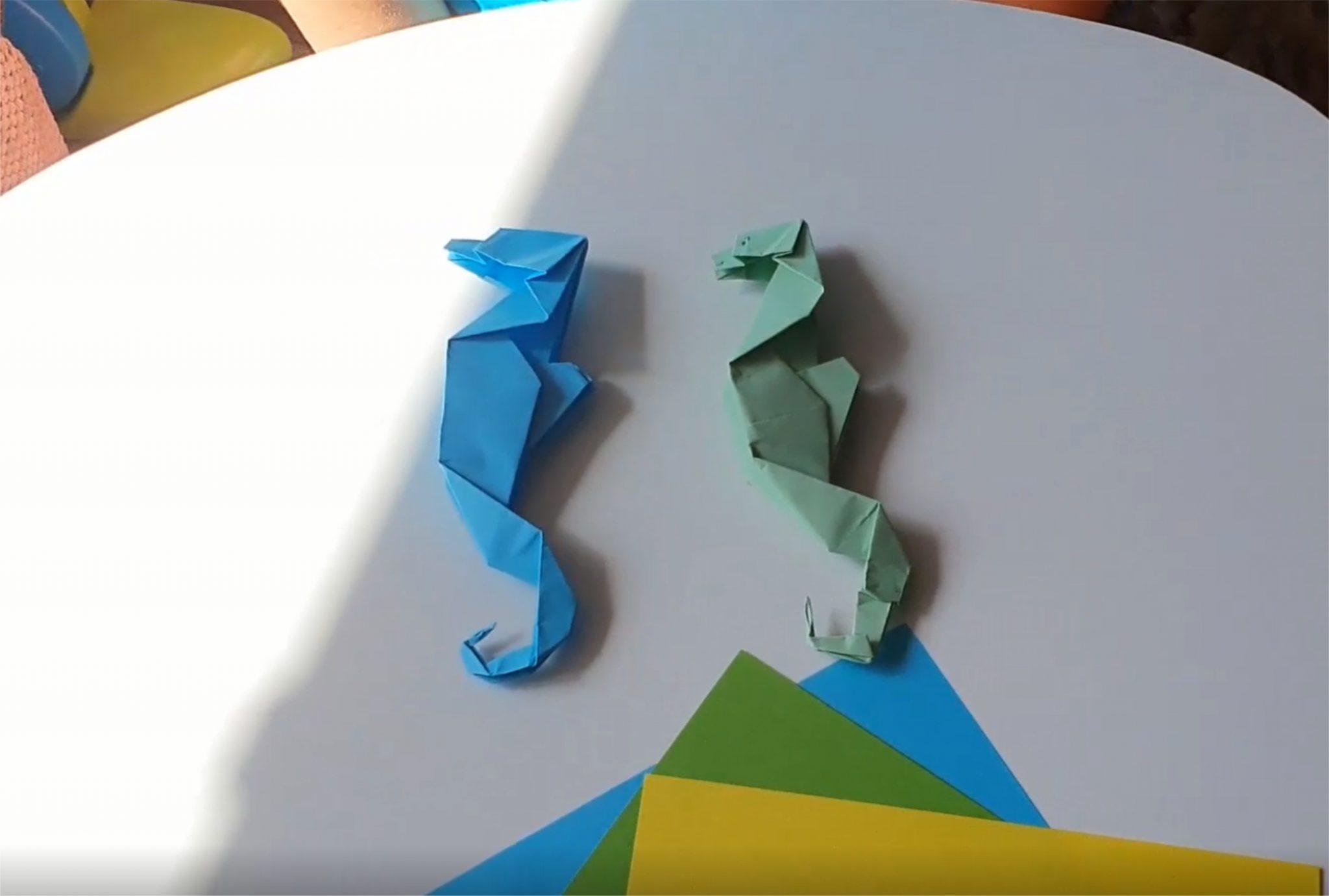Origami - konik morski