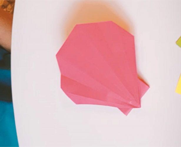 Origami – przegrzebek