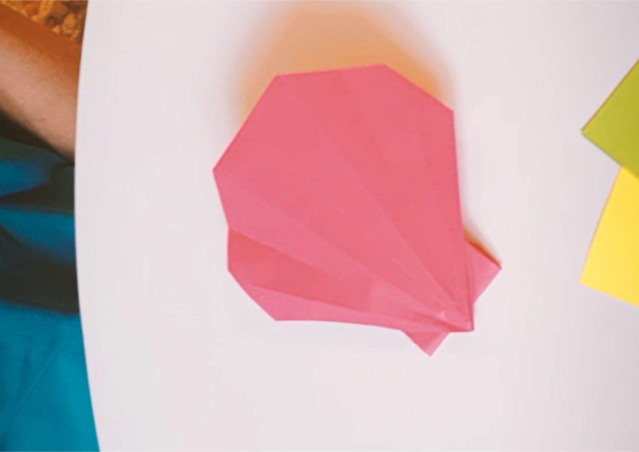 Origami - przegrzebek