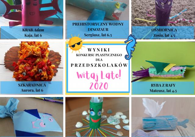 Wyniki konkursu Witajlato!